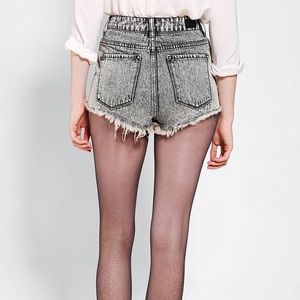 BDG High Rise Cheeky Cutoff Shorts 27